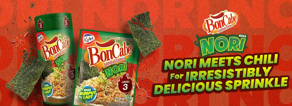 BonCabe Spicy Seaweed Sprinkle