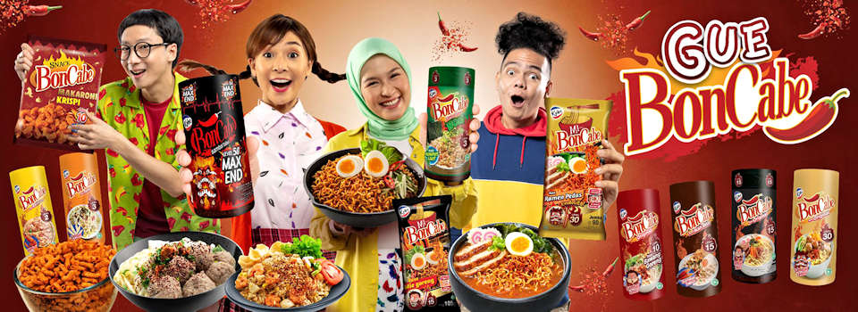 All BonCabe Products from KOBE Indonesia